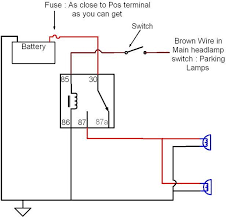 Headlights To Fog Light Relay Wiring Diagram Fog Light Wiring Harness