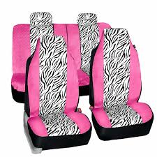 fh group zebra prints car seat covers
