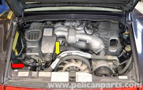 pelican technical article porsche 993 distributor removal and if you own a varioram car you will need to remove part of the blower motor