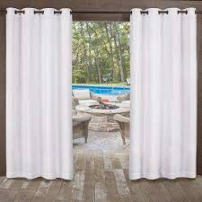 l indoor outdoor grommet top curtain panel