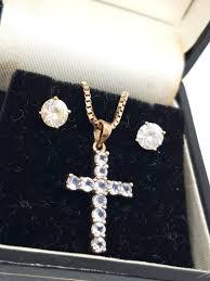 rare vintage 9ct italian gold cross