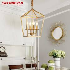 <b>Nordic LED chandeliers</b> Ligthing Fixture Copper Ceiling Chandelier ...
