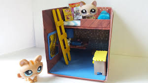 Shoebox Bedroom How To Make A Cute Lps Bedroom For Boy Or Girl Dollhouse Diy