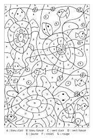 Coloriage Magique Lettres Les Beaux Dessins De Meilleurs Dessins
