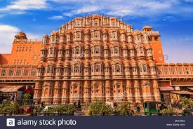 famous ancient architecture. Fine Famous Hawa Mahal Jaipur Rajasthan  Famous Ancient Architecture Constructed With  Red And Pink Sandstone To Ancient Architecture I