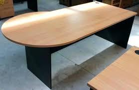 round office desks. Half Circle Office Desk Round Table End Edge Sigma Semi Home Desks