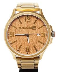 quiksilver beluka watch gold surfstitch gold mens accessories quiksilver watches hqm154bfgld