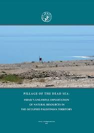 Pillage of the <b>Dead Sea</b>: Israel's Unlawful Exploitation of <b>Natural</b> ...