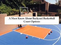 diy backyard basketball court. Modren Diy Backyard Basketball Court Options Hardwood Asphalt Multi Purpose  Advanced In Diy D