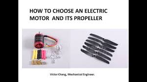 How To Choose A Rc Electric Motor And Propeller For Your Plane