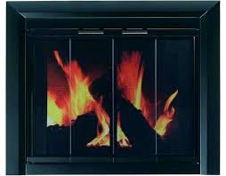 fireplace glass door insert do do fireplace insert glass door replacement