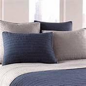 navy pillow shams. Contemporary Navy NOSTALGIA HOME Navy Gray PICK STITCH Euro EUROPEAN PILLOW SHAM On Pillow Shams A