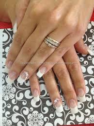Eye Candy Nails & Training - Classic french acrylic nails with ...