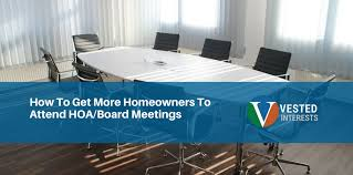 hoa office. 18 Oct How To Get More Homeowners Attend HOA/Board Meetings Hoa Office F
