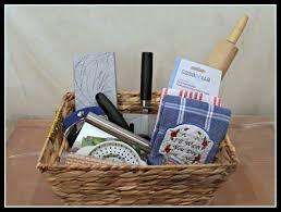 kitchen utensils gadgets gift basket housewarming gift college student gift
