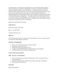 Painter Resume Sample Youtuf Com Examples Journeyman For