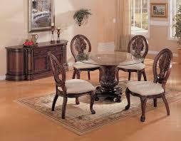 Glass Kitchen Tables Round Round Kitchen Table Set Designsbygailus