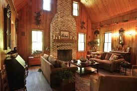 rustic living room charleston