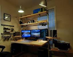 stylish office desk setup. Stylish Computer Desk Setup Ideas Interior Design Office A