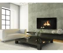 Celsi Puraflame Curved Wall Mounted LCD Electric Fire