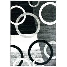 black and white round rug black and white striped round rug circle area rugs contemporary circles