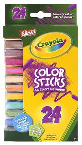 Amazon Com Crayola 24 Ct Color Stick Pencils 24 Assorted Colors