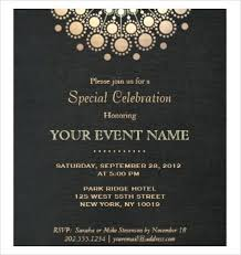 Formal Invitation Template Invitation Formal Invitation Templates ...