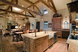 choosing rustic living room. How To Choose Amazing Rustic Living Room: Room With Farm Table And Granite Choosing