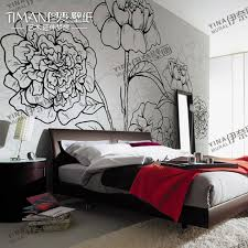 diy wall murals | Mural qiangbu wallpaper tv wall covering wallpaper tv wall  flower diy .