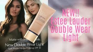 Estee Lauder Double Wear Light 02 New Estee Lauder Double Wear Light Soft Matte Hydra Foundation
