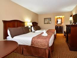 double bed top view. 2 Double Bed Best Western Plus Landing View Inn And Suites Top