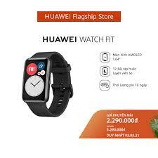 Mã ELMALL300K giảm 5% đơn 500K] Đồng hồ thông minh Huawei Watch Fit - Đồng  hồ thông minh