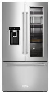 kitchenaid french door refrigerator. kitchenaid 24\u0027 french door counter depth refrigerator kitchenaid