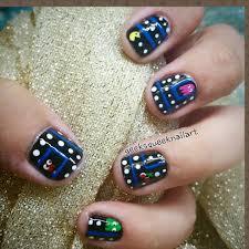 Geek Squeek Nail Art