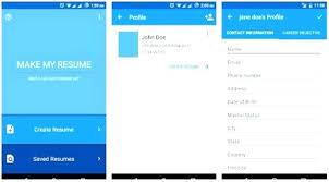 Resume Maker App For Iphone 40 Genglobalco Gorgeous Resume Maker App