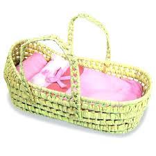 badger moses basket natural raffia basket for dolls by badger moses basket bedding