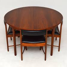 Retro Kitchen Table Chairs Mcintosh Rosewood Danish Retro Vintage Furniture For Sale London