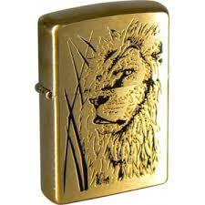 <b>Зажигалка Zippo</b> 204B <b>Proud Lion</b> Brushed Brass купить в ...