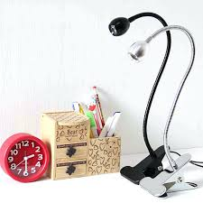 bedside clip on lamp led clip lamp desk light dormitory bedroom bedside table lights for work student learning plug small clamp lamps in desk lamps from