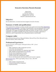 Secretary Resume Examples For Study Sample Image Resume Sample