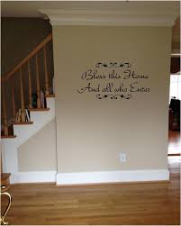 Small Picture Quote It Bless This Home and All Who Enter Vinyl Wall Decals