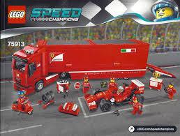 Lego speed champions 75913 f14 t&scuderia ferrari truck. Review 75913 F14 T Scuderia Ferrari Truck Brickset Lego Set Guide And Database