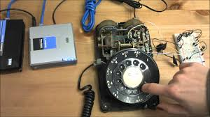 rotary phone pulse dial to tone dtmf converter