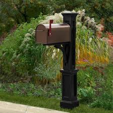 mailbox post. This Review Is From:Newport Plus Plastic Mailbox Post, Black Post Home Depot