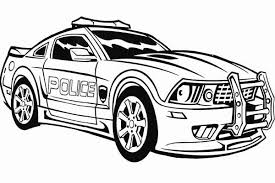 Small Picture Transformers Police Car Coloring Page Color Luna