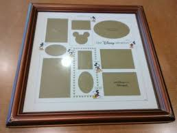 disney picture frame photo collage frame our disney vacation 16