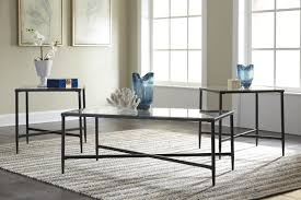 coffee table sets youll love wayfair glass coffee furniture melanie piece set piececoffeetableset set