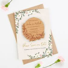 Blank Save The Date Cards Save The Date Cards Notonthehighstreet Com