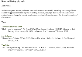 Citing Film And Video Citing Your Sources Research Guides At