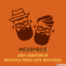 Megaprice Create A Cool Price List From Excel Excel To Pdf Online